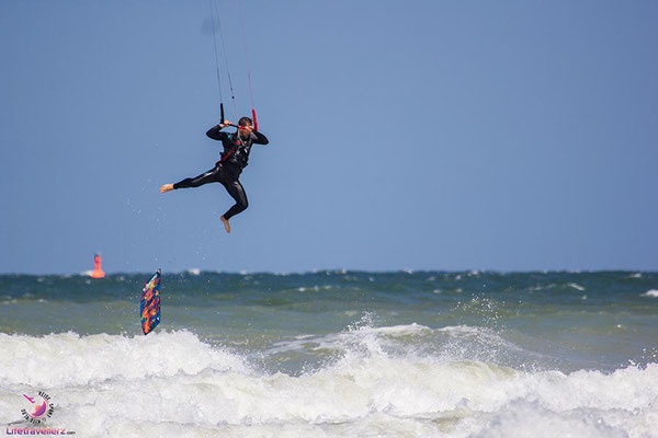 Kitesurfen in Warnemünde