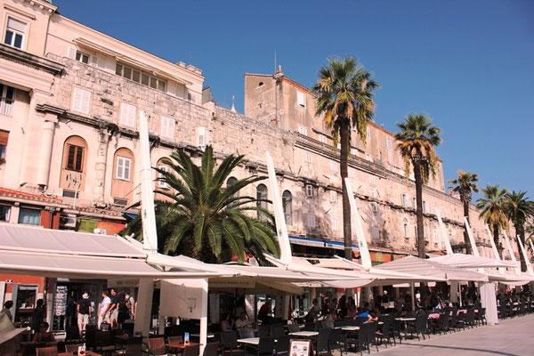 Innenstadt von Dubrovnik in Kroatien