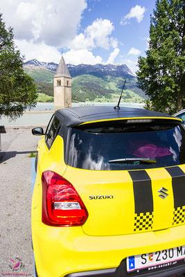 Roadtrip Südtirol: Reschensee