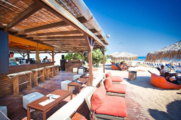 Beach Klub neben der Kitestation