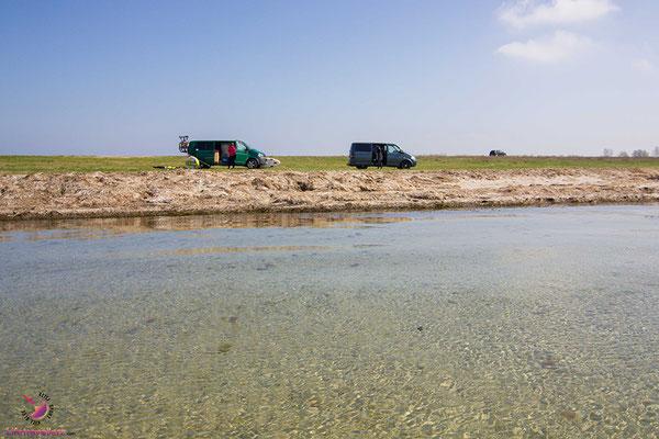 Kitespot in Farø - Kitesurfen und Stand Up Paddling in Dänemark