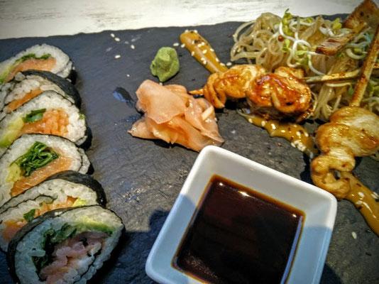 Sushi im Calouba Californian Restaurant in Thalgau