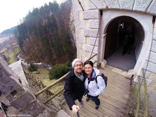 Predjama Burg in Slowenien