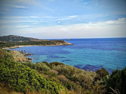 Küste von Sardinien
