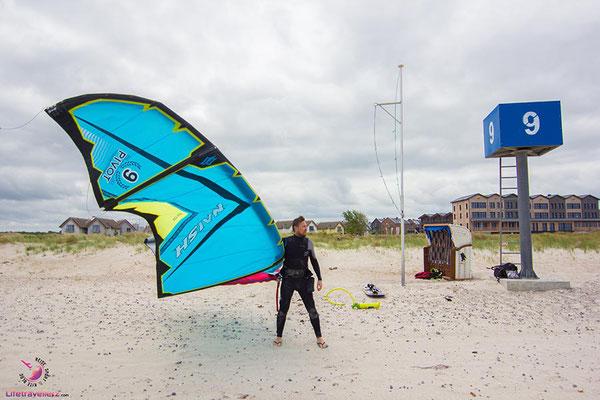 Kitespotguide Ostsee Heiligenhafen Bretterbude