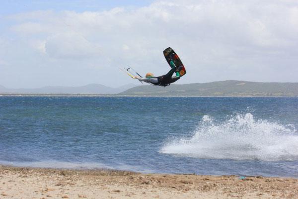 Kitesurfen Sardinien