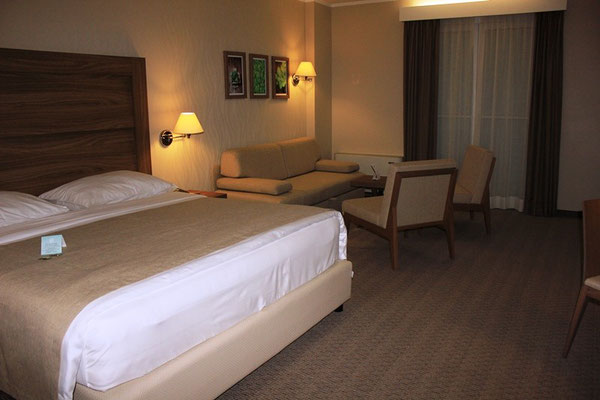 Doppelzimmer im Lifeclass Hotel in Portoroz