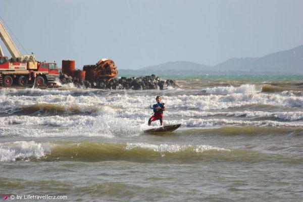 Kitesurfen Toskana, Talamone