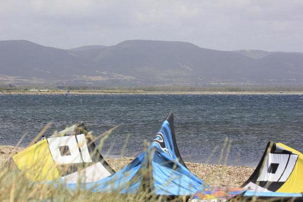 Kitesurfen auf Sardinien