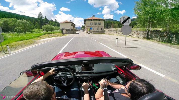 Unterwegs mit dem Mazda Roadster