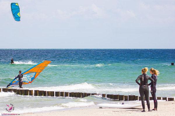 Kitesurfen lernen - Zingst Ostsee