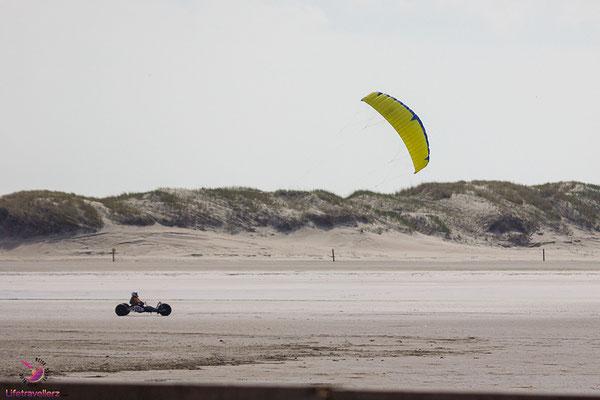 Kitebuggy fahren in Sankt Peter-Ording