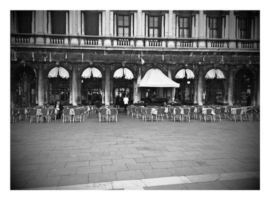 Kaffeehaus am Markusplatz in Venedig