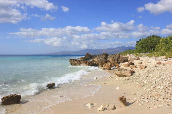 Strand nahe Trinidad auf Kuba