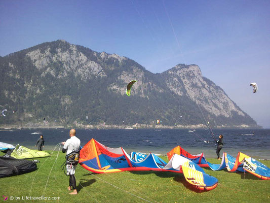 Kitespot am Traunsee