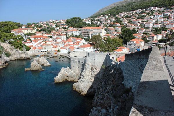 Stadtmauer in Dubrovnik