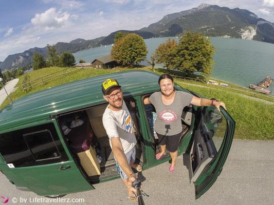 Van Lifestyle, VW Bus, Wolfgangsee, VanOneClassicCars, Lifetravellerz
