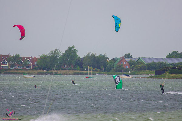 Kitespot in Gold, Fehmarn