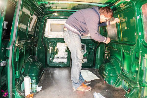 VW Bus Camperconversion-Alubutyl