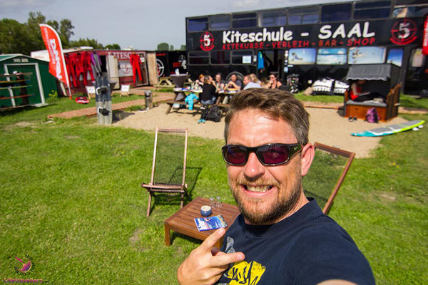 Kitespot und SUP Spot Saaler Bodden