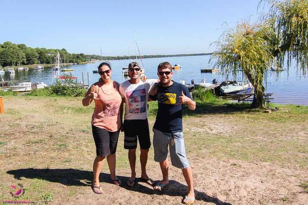 Kitespot Guide Aquitanien-Frankreich Lac d'Hourtin