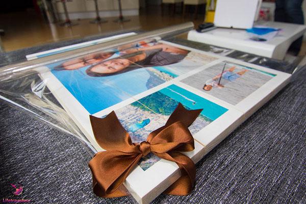 Foto auf Holz als Weihnachtsgeschenk