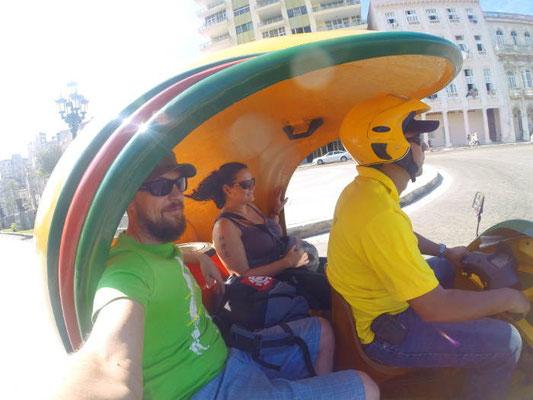 Taxifahrt in Havanna Kuba