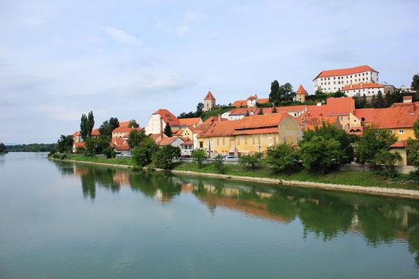 Ptuj in Slowenien