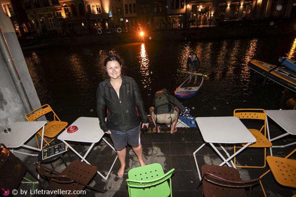 Stand Up Paddling Gent, Belgien