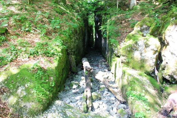Kanal vom Kammersee zum Toplitzsee