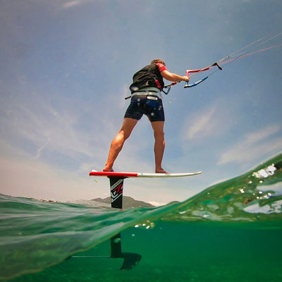 Kitefoiling Corfu Kite Club