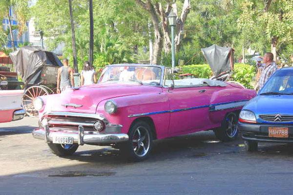 Oldtimer in Havanna auf Kuba