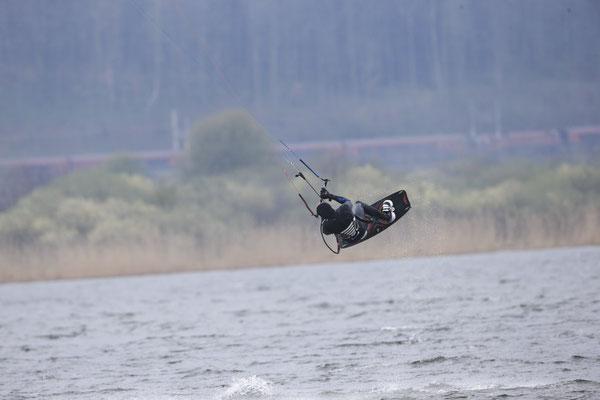 Kitesurfen Wallersee