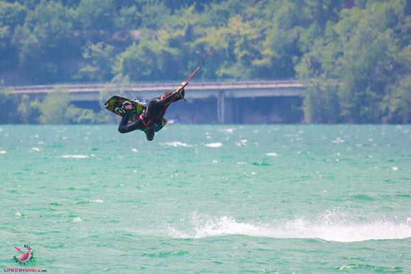Freestyle Kitesurfing ma Lago di Santa Croce