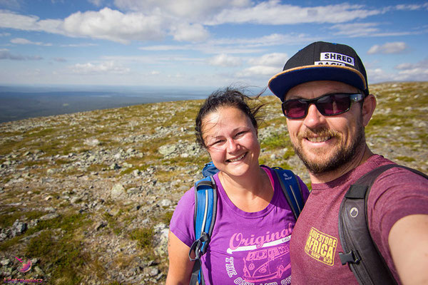 Roadtrip ans Nordkap - Wandern in Finnland