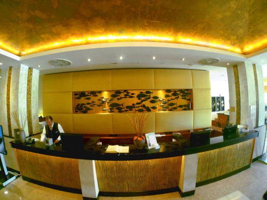 Lobby im Lifeclass Hotel Portoroz