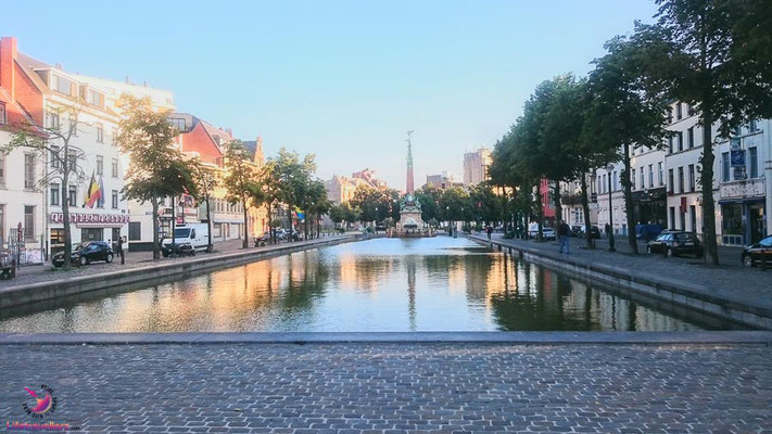 Alter Hafen beim Sightjogging in Brüssel by Lifetravellerz
