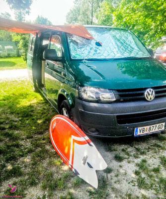 Camping mit dem VW Bus