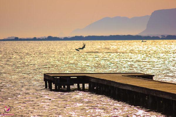 Kitespot Lo Stagnone, Sizilien