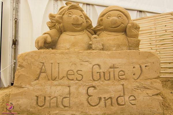 Ausflugstipps für Usedom - Sandskulpturen Ausstellung