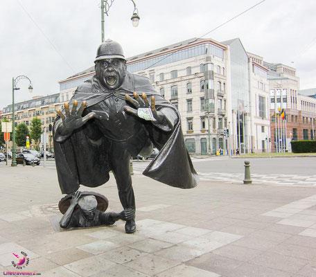 Lifetravellerz unterwegs mit Brussels Greeters in Belgien