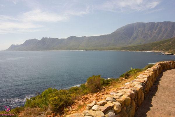 Betty's Bay in Südafrika, Küstenstraße