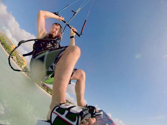 Kitesurfen mit Boardshort