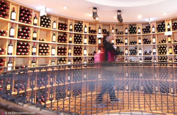 Weinhandlung in Bordeaux
