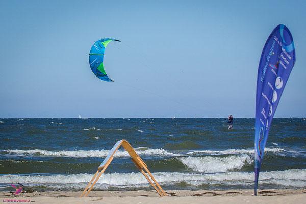 Kitesurfen an der Ostsee auf Usedom