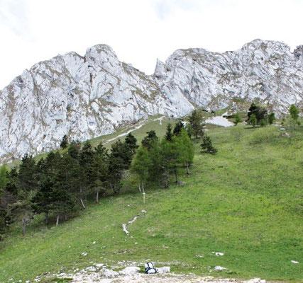 Berge in den italienischen Dolomiten