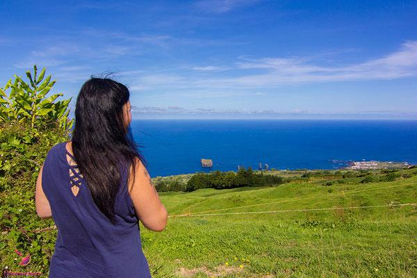 Melanie von Lifetravellerz auf den Azoren