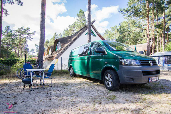 Zeltplatz Dünencamp Karlshagen - Camping auf Usedom