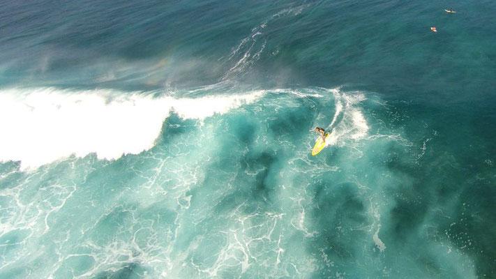 (c) Lukas Prudky - Kitesurfer von oben
