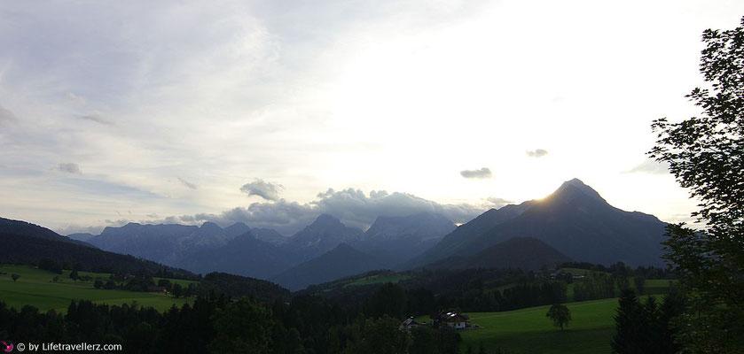 Ausblick vom Restaurant Bergpfeffer